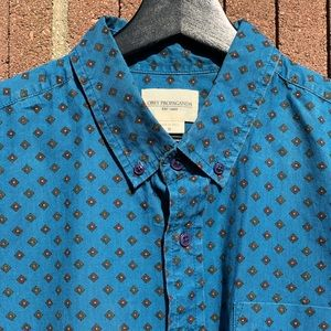 Obey Short Sleeve Button-Down